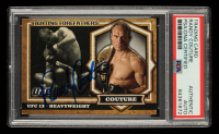 Randy Couture Signed 2012 Topps UFC Bloodlines Fighting Forefathers #FFRC (PSA Encapsulated) at PristineAuction.com