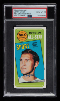 Jerry West Signed 1970-71 Topps All-Star #107 Basketball Card (PSA Encapsulated) at PristineAuction.com