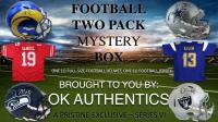 OKAUTHENTICS Full-Size Helmet & Jersey Football Mystery Box Series VI at PristineAuction.com