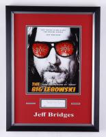 "Jeff Bridges Signed ""The Big Lebowski"" 14.5x19.5 Custom Framed Cut Display (JSA COA) at PristineAuction.com"