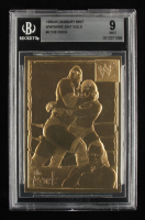 The Rock 1999-05 Danbury Mint WWF / WWE 22kt Gold #4 (BGS 9) at PristineAuction.com