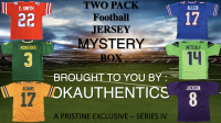 Okauthentics Two Pack Football Jersey - Series IV at PristineAuction.com