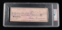 Ted Williams Signed 1982 Personal Bank Check (PSA Encapsulated) (See Description) at PristineAuction.com