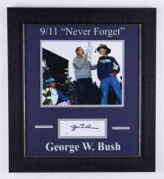 George W. Bush Signed 18x20 Custom Framed Cut Display (JSA COA) at PristineAuction.com