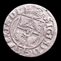 Sigismund III (1587-1632) 3 Polker Medieval Silver Coin at PristineAuction.com
