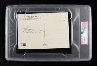 Willie Lanier Signed Hall Of Fame Postcard (PSA Encapsulated) at PristineAuction.com