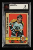 Bobby Orr 1972-73 Topps #100 DP (BVG 8) at PristineAuction.com