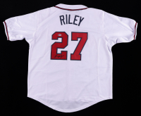 Austin Riley Signed Jersey (Beckett Hologram) at PristineAuction.com