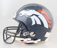 John Elway Signed Broncos Full-Size Authentic On-Field Helmet (JSA LOA) (See Description) at PristineAuction.com
