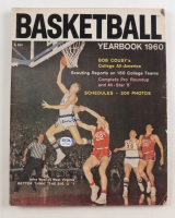 """Jerry West Signed """"Basketball Yearbook"""" Magazine (PSA Hologram) at PristineAuction.com"""