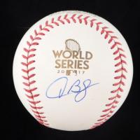 Alex Bregman Signed 2017 World Series Logo Baseball (TriStar Hologram) (See Description) at PristineAuction.com