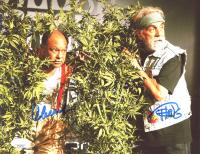 Tommy Chong & Cheech Marin Signed 8x10 Photo (JSA COA) at PristineAuction.com