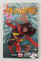 "Iman Vellani Signed 2015 ""Ms. Marvel"" Trade Paperback Volume #3 Marvel Comic Book (JSA COA) (See Desciption) at PristineAuction.com"