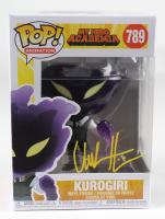 "Chuck Huber Signed ""My Hero Academia"" #789 Kurogiri Funko Pop! Vinyl Figure (JSA COA) at PristineAuction.com"