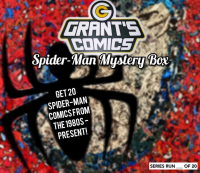 Grant's Comics Spider-Man Mystery Box at PristineAuction.com