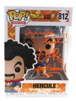 "Chris Rager Signed ""Dragon Ball Super"" #812 Hercule Funko Pop! Vinyl Figure Inscribed ""Dynamite Kick!!"" & ""Mr. Satan!!"" (JSA COA) at PristineAuction.com"