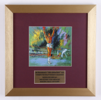 "LeRoy Neiman ""Muhammad Ali"" 13x13 Custom Framed Print Display (See Description) at PristineAuction.com"