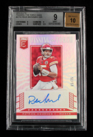 Patrick Mahomes II 2019 Elite Passing the Torch Signatures #2 #5/25 (BGS 9) at PristineAuction.com