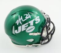 Nick Mangold Signed Jets Speed Mini Helmet (Beckett Hologram) at PristineAuction.com