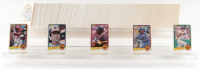 Complete Set of (660) 1983 Donruss Baseball Cards with Julio Franco #525 RC, Cal Ripken J. #279, Tony Gwynn #598 RC, Ryne Sandberg #277 RC, Wade Boggs #586 RC at PristineAuction.com
