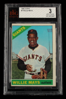 Willie Mays 1966 Topps #1 (BVG 3) at PristineAuction.com