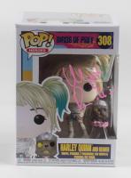 "Margot Robbie Signed ""Birds Of Prey"" #308 Harley Quinn and Beaver Funko Pop Vinyl Figure (ACOA LOA) at PristineAuction.com"
