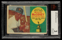Willie McCovey 1960 Topps All-Star Rookie #316 (BVG 3) at PristineAuction.com