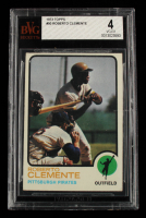 Roberto Clemente 1973 Topps #50 (BVG 4) at PristineAuction.com