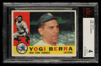 Yogi Berra 1960 Topps #480 (BVG 4) at PristineAuction.com