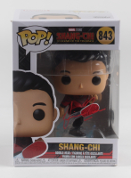 """Simu Liu Signed """"Shang-Chi and the Legend of the Ten Rings"""" #843 Shang-Chi Funko Pop Vinyl Figure (Beckett Hologram) (See Description) at PristineAuction.com"""
