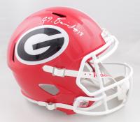 JT Daniels Signed Georgia Bulldogs Full-Size Speed Helmet (JSA COA) (See Description) at PristineAuction.com