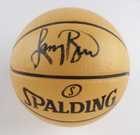Larry Bird Signed Spalding Champions Basketball (PSA COA) at PristineAuction.com