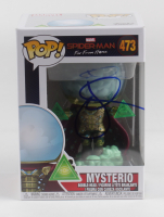 "Jake Gyllenhaal Signed ""Spider-Man: Far From Home"" #473 Mysterio Funko Pop Vinyl Figure (Beckett Hologram) (See Description) at PristineAuction.com"