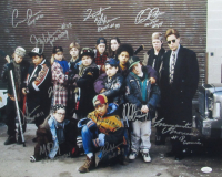 """""""The Mighty Ducks"""" Cast Signed 16x20 Photo by (10) with Brandon Adams, Matt Doherty, Aaron Schwartz, Shaun Weiss with Multiple Inscriptions (JSA COA) at PristineAuction.com"""
