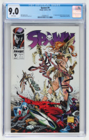 """1993 """"Spawn"""" Issue #9 Image Comic Book (CGC 9.0) at PristineAuction.com"""
