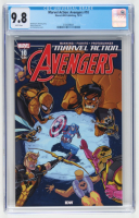 """2019 """"Marvel Action: Avengers"""" Issue #10 Marvel-IDW Publishing Comic Book (CGC 9.8) at PristineAuction.com"""