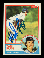 Wade Boggs Signed 1983 Topps #498 RC (JSA COA) at PristineAuction.com