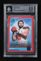 Baker Mayfield 2018 Donruss Press Proof Red Rated Rookie #303 RC (BGS 8.5) at PristineAuction.com