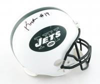 Keyshawn Johnson Signed Jets Full-Size Helmet (Schwartz COA) at PristineAuction.com