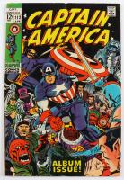 "1969 ""Captain America"" Issue #112 Marvel Comic Book at PristineAuction.com"