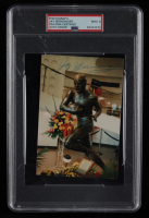 """Jay Berwanger Signed 4x6 Photo Inscribed """"Best Wishes"""" (PSA Encapsulated) at PristineAuction.com"""
