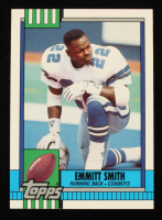 Emmitt Smith 1990 Topps Traded #27T RC at PristineAuction.com