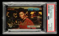 Nichelle Nichols Signed 1995 Paramount Pictures Star Trek Mercury Card (PSA Encapsulated) at PristineAuction.com
