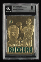 Aaron Rodgers 2008 Merrick Mint Gold Sculpted Sig Series #AR (BGS 9) at PristineAuction.com