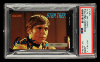 Walter Marvin Signed 1995 Paramount Pictures Star Trek Mercury Card (PSA Encapsulated) at PristineAuction.com