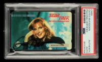 Gates McFadden Signed 1995 Paramount Pictures Star Trek Mercury Card (PSA Encapsulated) at PristineAuction.com