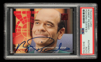 Robert Picardo Signed 1995-96 30 Years of Star Trek #187 Doctor (PSA Encapsulated) at PristineAuction.com