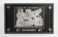Nolan Ryan Limited Edition Commemorative Pure Silver Card in Protective Case From Enviromint at PristineAuction.com