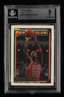 Michael Jordan 1992-93 Topps Gold #205 50P (BGS 9) at PristineAuction.com