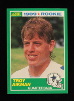 Troy Aikman 1989 Score #270 RC at PristineAuction.com